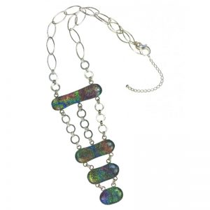COLLAR METALIZADO MULTICOLOR CL