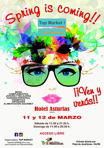 MATXI ESTARA EN GIJON 11 Y 12 MARZO - POP UP ORGANIZADO POR TOP MARKET