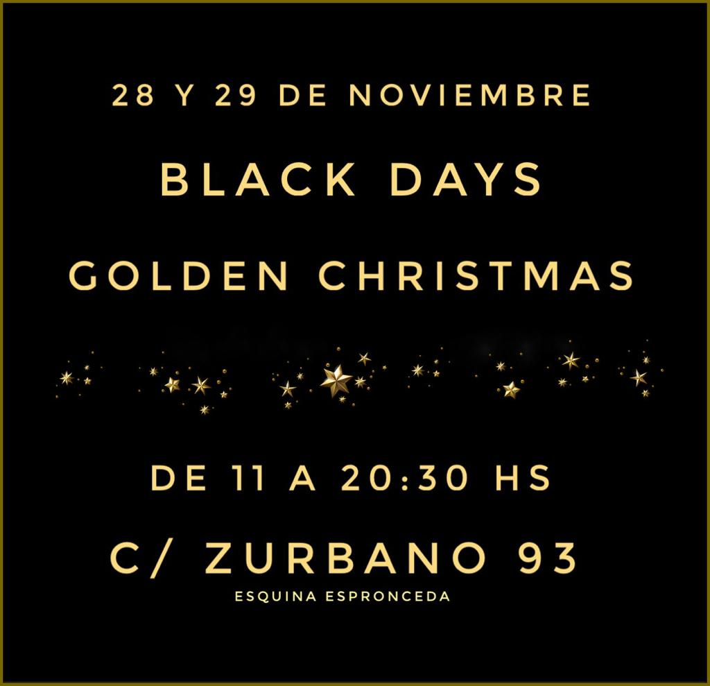 Black Days 28 y 29 Noviembre en Madrid